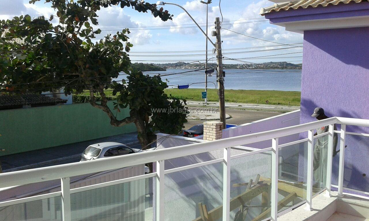 Casa independente de 1ª locação, frontal e linda vista da Lagoa, perto do Shopping