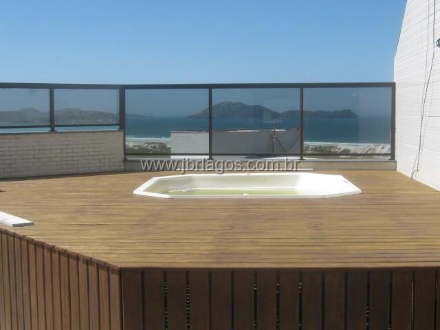 Espetacular cobertura com linda vista mar, ampla, terraço com área gourmet, piscina e hidro