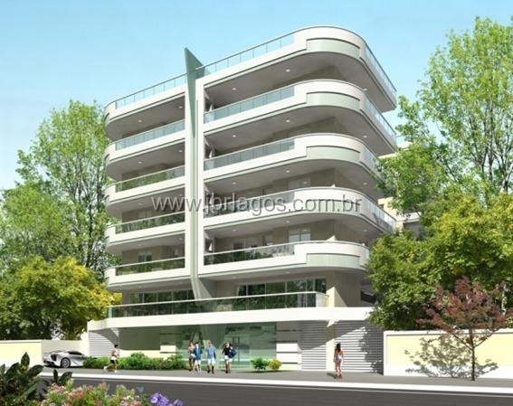 Lançamento de luxuoso prédio com apartamentos prontos para morar a 200 m da Praia, e varanda com área gourmet