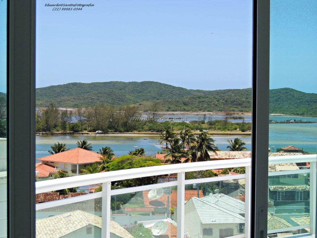 Maravilhosa cobertura de 1º locação, com linda vista da Ilha do Japonês, a pé para  Praia e Centro