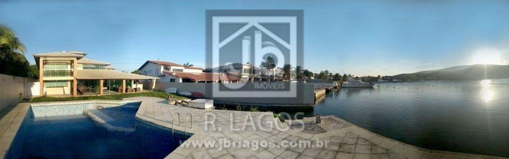 Cinematográfica mansão com 1000 m², linda vista, área de lazer completa, canal navegável e heliporto