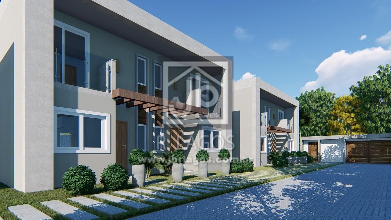 Lançamentos de lindas casas modernas, na segurança de um charmoso condomínio, entrega em março de 2021